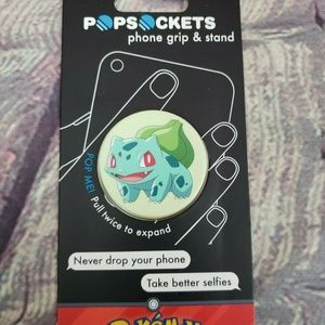 PopSockets Single Phone Grip PopSocket Bulbasaur